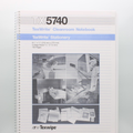 "TX5740 TexWrite 8.5"" x 11"" White Cleanroom Spiral Notebook"