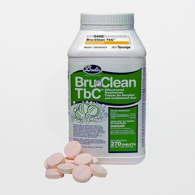 Texwipe's Bru-Clean TbC