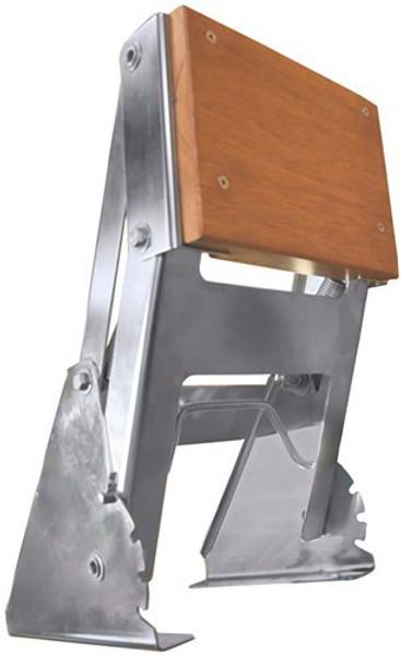 RWB Tenob Outboard Motor Bracket Stainless Steel - Horizontal Mount Adjustable