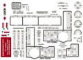 Piper PA-60 Aerostar interior decal set. Sheet 1 of 2.