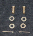 Piper Cabin Door. Hinge Clevis Pin Set. PA-28, PA-32 & PA-34.  ADS-CL