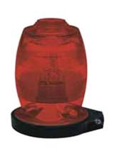 Whelen A402AR Lens Assembly Red (Fits A470 Light)