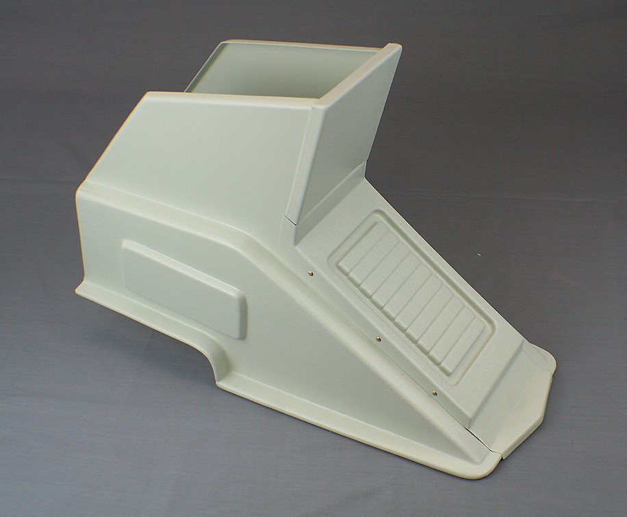 Abs Plastic Cessna 150 152 Center Console 1969 Up 26 23 80a