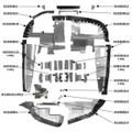 Cessna C-210 (1970~73) Complete Engine Baffle Set