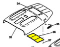 Access Cover. Cessna 0714051-8