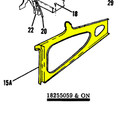 Trim, Side Window LH. 1964 Cessna 0700702-15-434