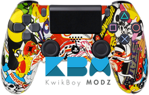 Sticker Bomb Custom PS4 Controller