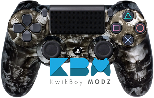 Reaper Skulls Custom PS4 Controller