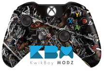 Custom Zombieflage Xbox One Controller