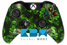Custom Green Hades Xbox One Controller