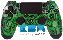 Green Zombies Custom PS4 Controller