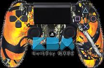 Custom Wildfire Camo PS4 Controller