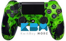 Custom Green Inferno PS4 Controller