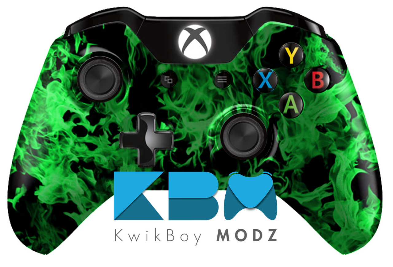 xbox one controller green - photo #33