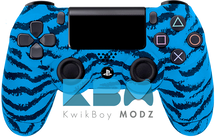Custom Blue Tiger PS4 Controller