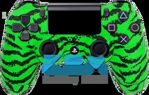 Custom Green Tiger PS4 Controller