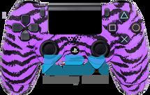 Custom Purple Tiger PS4 Controller