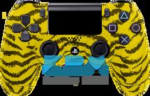 Yellow Tiger Custom PS4 Controller