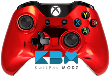 Chrome Red Xbox One Controller