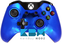 Blue Chrome Custom Xbox One Controller