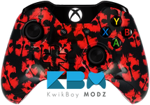 Ghosts Red Xbox One Controller