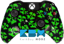 Ghosts Green Xbox One Controller