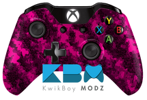 Defected Pink Xbox One Controller