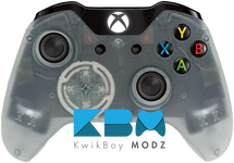Clear Xbox One Controller