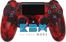 Red Defected Custom PS4 Controller