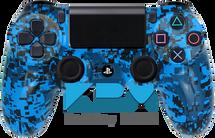 Blue Digi Camo Custom PS4 Controller