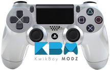 Chrome Custom PS4 Controller