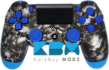Blue Reaper Custom PS4 Controller