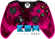Custom Pink Camotech Xbox One Controller