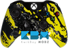 Custom Yellow Splatter Xbox One Controller