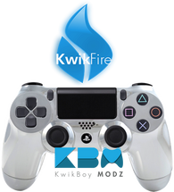 KwikFire Modded Chrome PS4 Controller