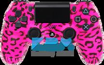 Custom Pink Cheetah PS4 Controller