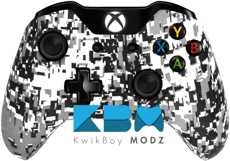 Digital Camo White Xbox One