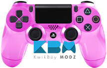 Custom Pink Chrome PS4 Controller