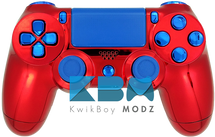 Custom Spiderman PS4 Controller