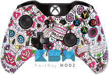 Custom Sugar Skulls Xbox One Controller