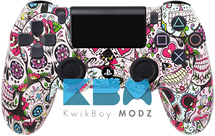 Custom Sugar Skulls PS4 Controller