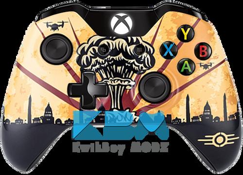 Custom Fallout Nuke Xbox One Controller