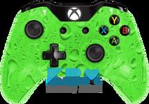 Custom Green Rain Xbox One Controller