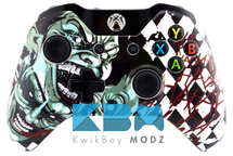 The Joker Custom Xbox One Controller