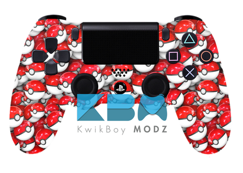 Custom Pokéball PS4 Controller
