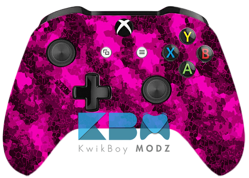 Custom Pink Defected Xbox One S Controller