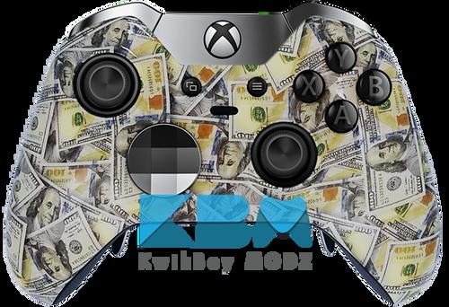 Custom Money Xbox One Elite Controller