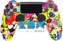 Custom Sticker Vandal PS4 Controller