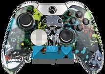Custom Zombie Skulls Elite Controller