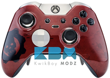 Custom RED GOW Elite Controller